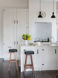 black white kitchen cabinet houzz