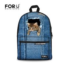 wholesale 2016 kawaii animal cat backpack for girls fashion