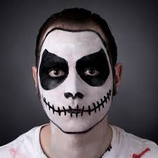 skeleton faces halloween how to do skeleton face makeup halloween skull face paint makeup
