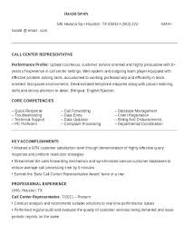 call center resume customer service representative resume objective call center