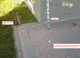 how can i fix a patio with drainage problems home improvement