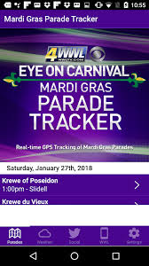 Louisiana travel tracker images Wwl mardi gras parade tracker android apps on google play