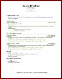 Example Of College Student Resume Help Writing Paper On Iraq Foregn Policy Example Of Objective In