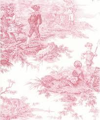 Rideaux Toile De Jouy Tissu D U0027ameublement à Motif En Coton Histoire D U0027eau