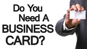 4 reasons you need a business card the importance of business