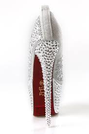 2014 women pumps rhinestone shoes 16cm wedding shoes red bottom