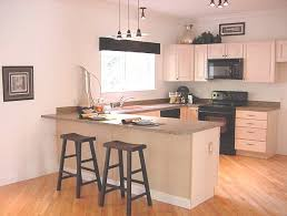 Breakfast Bar Modren Small Kitchen Design With Breakfast Bar E For Inspiration