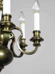 Colonial Chandelier Colonial Revival Chandelier 6 Light