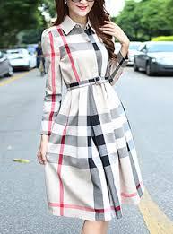 plaid dresses cheap price