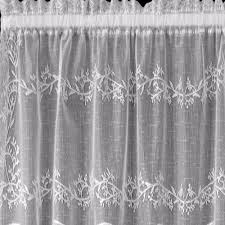 sheer divine lace kitchen u0026 tier curtains heritage lace