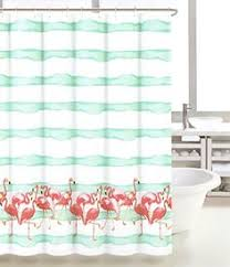 Pink Flamingo Bathroom Accessories by Pink Flamingo Shower Curtain Pink Flamingos Flamingo And Cheer