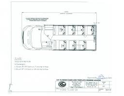 Vehicle Floor Plan Collins Nexbus Bus With A Ford Transit Chassis