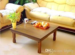 fold out coffee dining table korean folding table coffee wood furniture dining leg rectangle