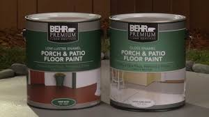 how to apply behr premium porch u0026 patio floor paint youtube