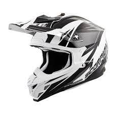 ebay motocross helmets scorpion exo vx 35 motocross helmet lg krush white black ebay