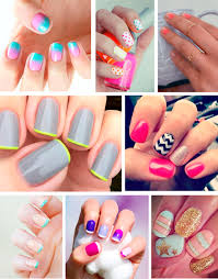 nail art paint your nails for summer oysho blog