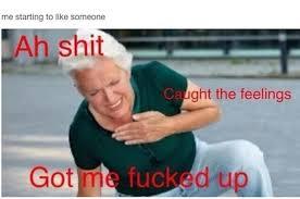 Fell Into Some Feelings Meme - i caught feelings meme caught best of the funny meme