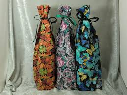 wine bottle gift bags fabric wine bottle gift bags all occasion collection 1 ted s