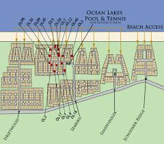 Map Of Outer Banks Nc Outer Banks Ocean Lakes Community Outer Banks Vacation Rentals