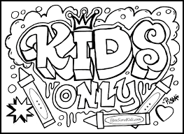 Words Coloring Pages Funycoloring Coloring Pages