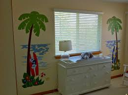 sun surf sea life customer photos and alternate images palm tree surfboard wall mural