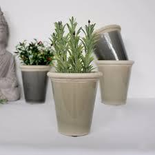 small olive crackle glaze ceramic pot