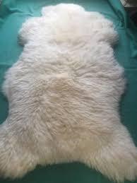 tappeti di pelliccia coperta di pelliccia pelle pecora 4 bordeaux tappeto camino vera
