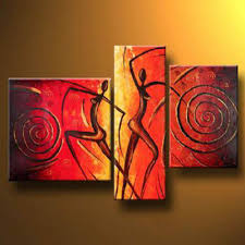 Canvas Wall Paintings Art Decor Oil Painting Regarding