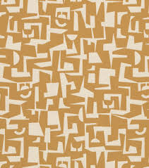 Yellow Home Decor Fabric Crypton Upholstery Fabric 54