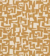 Yellow Home Decor Fabric Crypton Upholstery Fabric 54