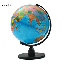 Bookcase Shop 25cm World Globe Map With Swivel Stand Map Of Earth Geography