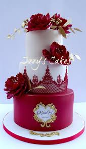 wedding anniversary cakes ruby wedding anniversary cake by izzy s cakes http cakesdecor