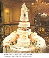 wedding cake castle tiered wedding cake with castle
