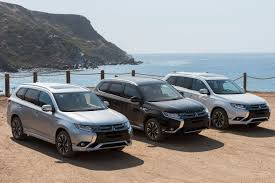 mitsubishi mini truck 2018 mitsubishi outlander phev first drive winner by default