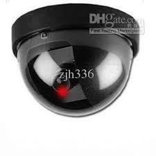 motion light security camera online cheap new led light dummy fake joke home cctv security camera