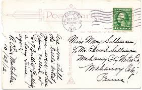 when i am 100 years old writing paper papergreat 10 28 12 11 4 12 according to the reverse side this postcard was mailed for a penny almost exactly 100 years ago it was postmarked at 10 30 a m on october 30 1912
