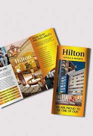 free templates for hotel brochures free hotel and motel tri fold psd brochure by elegantflyer