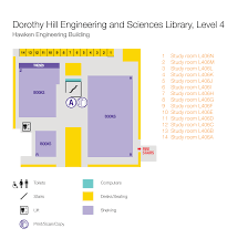 study room floor plan dorothy hill engineering and sciences library library the