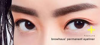 we made our eyeliner permanent with browhaus u0027 big eye eye define