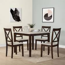 andover mills tilley rustic 5 piece dining set u0026 reviews wayfair