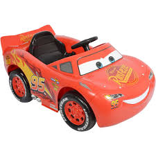 toddler battery car cars 3 lightning mcqueen kids electric ride on car big w