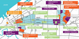 map of cleveland clinic grant to put cle on the tech map with 100 gigabit