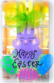 Easter Door Decorations Shop by Easter Wreath Easter Door Hanger Easter Decoration