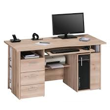Beech Computer Desk Wooden Computer Desk Wooden Computer Work Station In Beech With