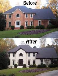 can you paint a brick house 207ufc