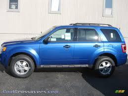 Ford Escape 2012 - ford escape 2012 blue image 4