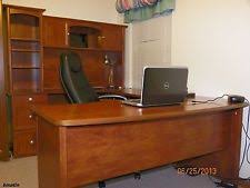 Office Furniture Desk Hutch Maple Desks And Home Office Furniture Ebay