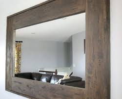 large wood wall mirror large rectangular wall mirror large wall