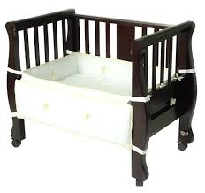 baby crib bed attachment trditionl tht frme tht nd baby bedside