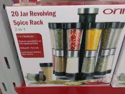 Revolving Spice Rack 20 Jars Orii Gourmet Revolving 20 Jar Spice Rack What U0027s It Worth